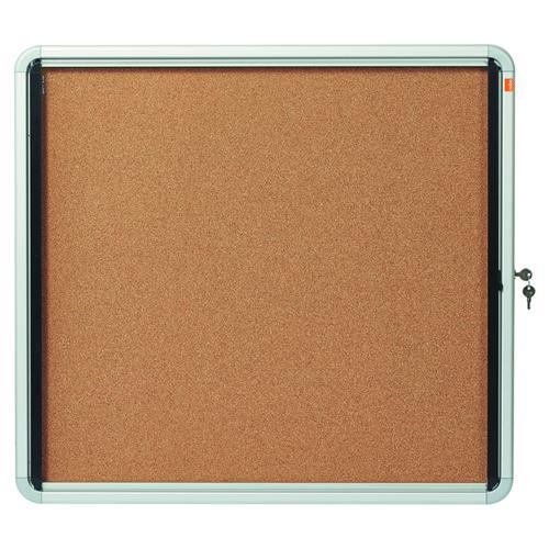 Nobo Internal Glazed Case Cork 6 x A4 1902562