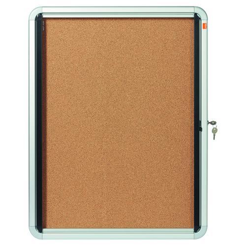 Nobo Internal Glazed Case Cork 4 x A4 1902561