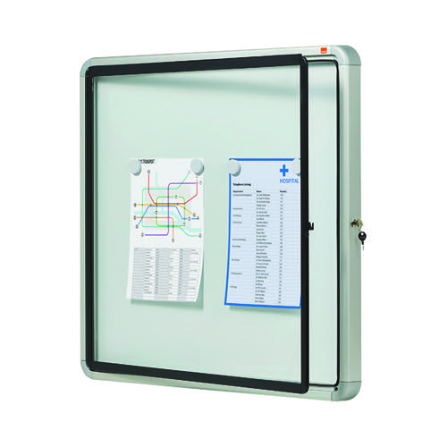 Nobo Weatherproof External Glazed Case 692x752mm 1902578