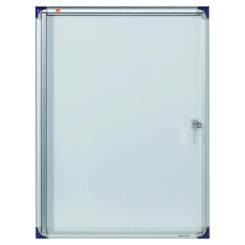 Nobo Extra Flat Glazed Case Magnetic 4 x A4 1900846