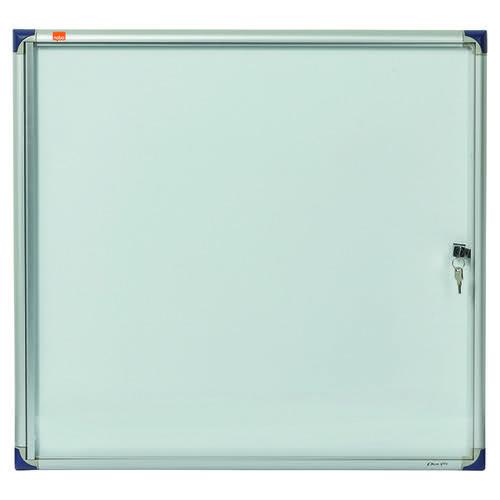 Nobo Extra Flat Glazed Case 6xA4 Magnetic 1900847