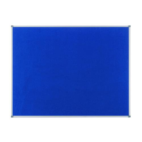 Nobo Classic Blue Felt Noticeboard 600x450mm 1900914