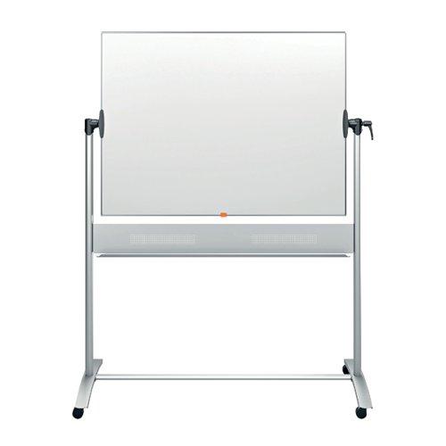 Nobo Classic Enamel Mobile Whiteboard 1200x900mm 1901033