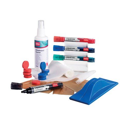 Nobo Magnetic Whiteboard User Kit 1901430