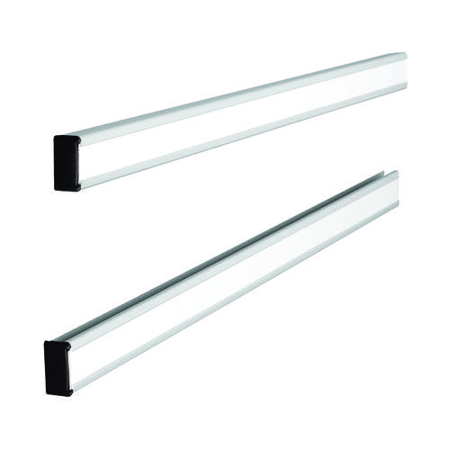 Nobo T-Card Metal Link Bars Size 12 288 x 13mm (Pack of 2) 32938888