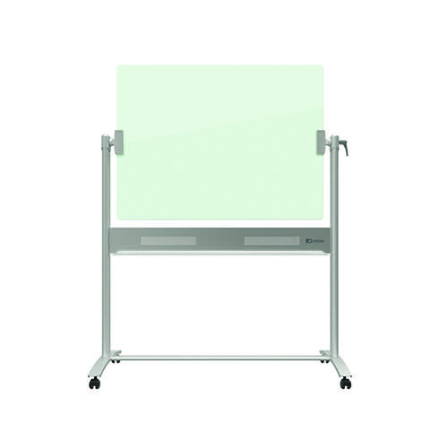 Nobo Diamond Mobile Magnetic Glass Board 1200x900mm 1903943