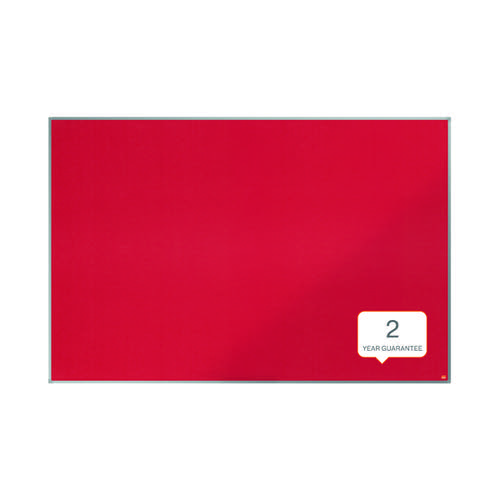 Nobo Essence Felt Notice Board 1800x1200mm Red 1904068