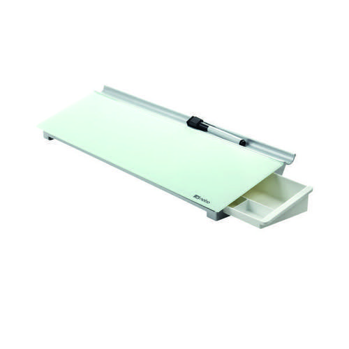Nobo Diamond Glass Personal Desktop Panel (Dimensions: W460 x D150 x H60mm) 1905174