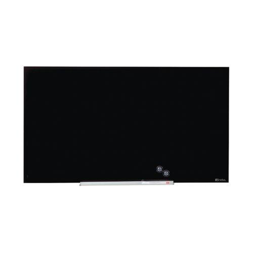 Nobo Impression Pro Glass Magnetic Whiteboard 1000x560mm Black 1905180
