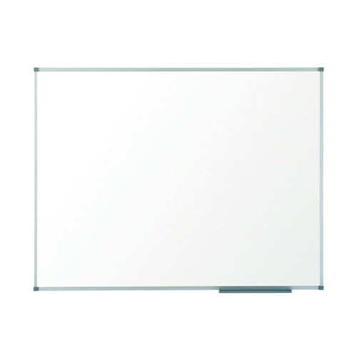 Nobo Steel Magnetic Whiteboard with Fixings 600x450mm White 1905209