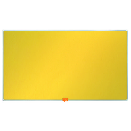 Nobo Noticeboard 32 Inch Felt Yellow 1905318