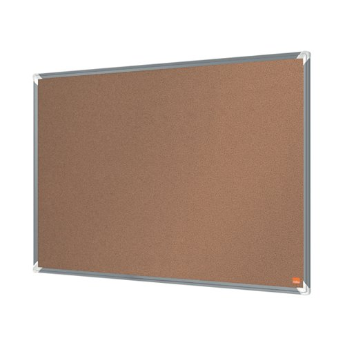 Nobo Premium Plus Cork Notice Board 1200 x 900mm 1915181