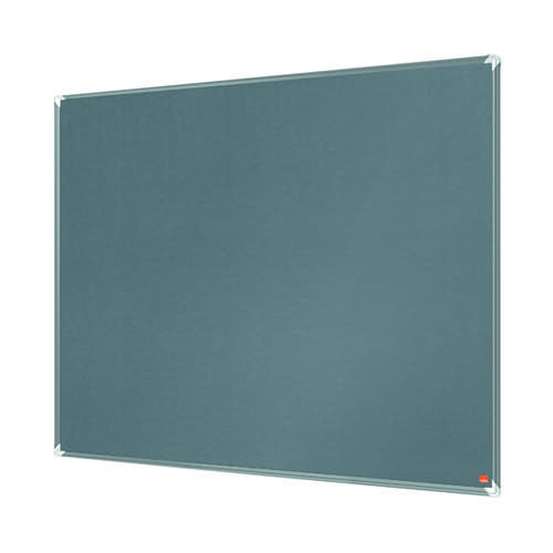 Nobo Premium Plus Felt Notice Board 1200 x 900mm Grey 1915196