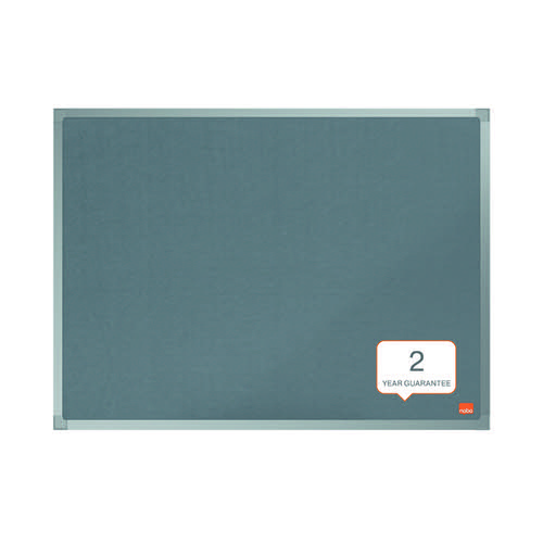 Nobo Essence Felt Notice Board 1800 x 1200mm Grey 1915440
