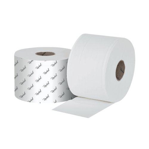 Raphael 1Ply Versatwin Toilet Roll 200m x 90mm (Pack of 24) VT1200R by Northwood Hygiene Products, NH00737