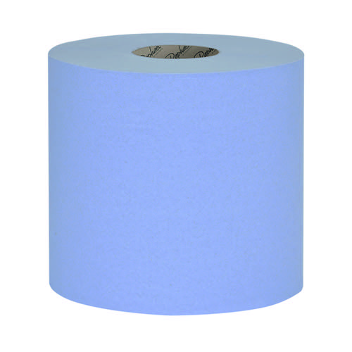 Raphael 1Ply Blue Roll Towel 250m x 200mm (Pack of 6) RT1B250R by Northwood Hygiene Products, NH00739