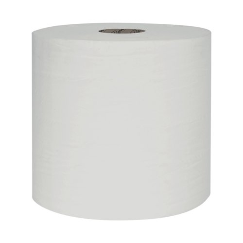 Raphael 1Ply White Roll Towel 250m x 200mm (Pack of 6) RT1W250R