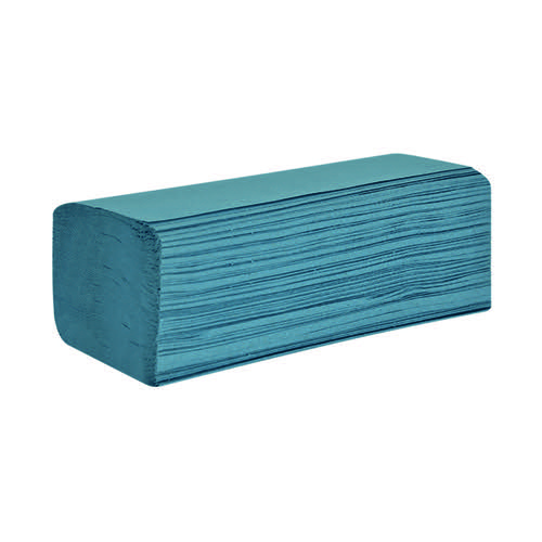 Raphael 1Ply Z Fold 200mm x240mm 250 Sheets Blue (Pack of 12) H1BZ30RA by Northwood Hygiene Products, NH00746