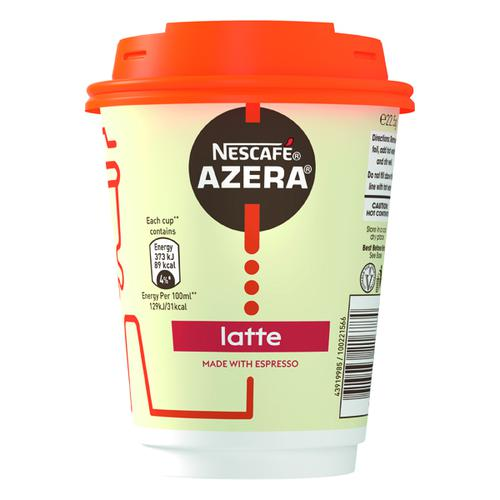 Nescafe & Go Azera Latte Cups (Pack of 6) 12367627