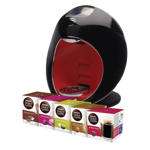 Nescafe Dolce Gusto Majesto Coffe Machine with 480 FOC Pods NL819844