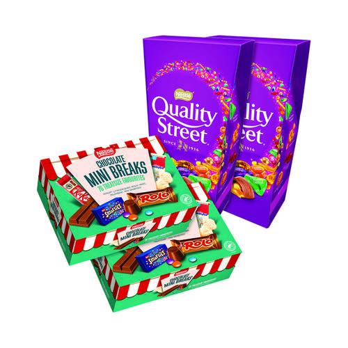 Nestle Chocolate Mini Break (Pack of 70) Buy 2 Get FOC Quality Street
