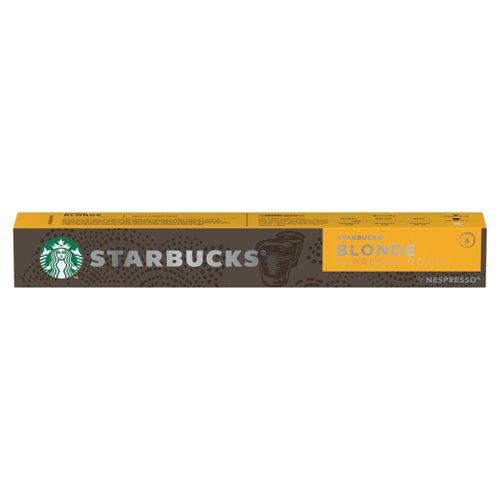 Nespresso Starbucks Blonde Roast Espresso Coffee Pods (Pack of 10) 12423392