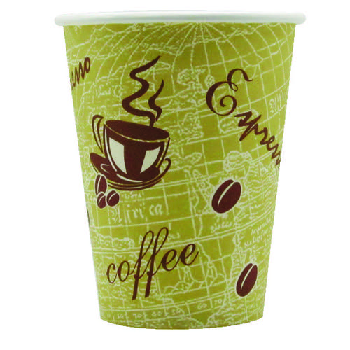 Nupik-Flo Ready to Go 12oz Paper Cup (Pack of 50) HVSWPA12 NP77026