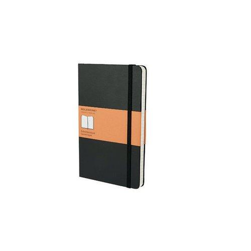 Moleskine Ruled Soft Cover Notebook Large Black QP616