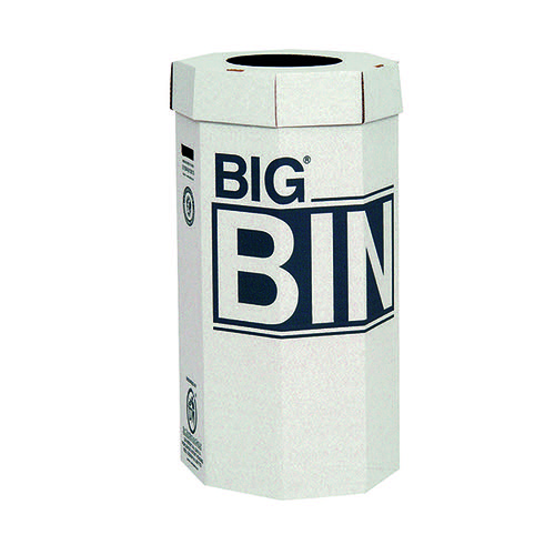 Acorn Big Bin Cardboard Recycling Bin 160 Litre (Pack of 5) 142958