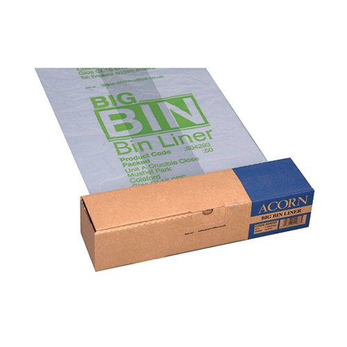 Acorn Big Bin Liner (Pack of 50) 504293