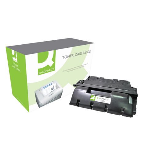 Q-Connect Compatible Solution HP 61X Black Laserjet Toner Cartridge High Capacity C8061X