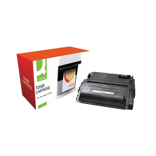 Q-Connect Compatible Solution HP 38A Black Laserjet Toner Cartridge Q1338A