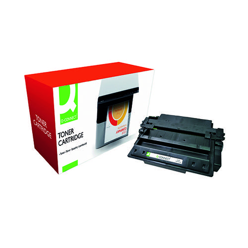 Q-Connect Compatible Solution HP 11X Black Laserjet Toner Cartridge High Capacity Q6511X