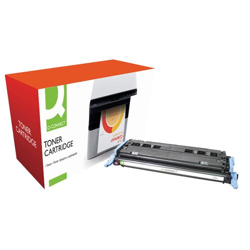 Q-Connect HP 124A Remanufactured Magenta Laserjet Toner Cartridge Q6003A