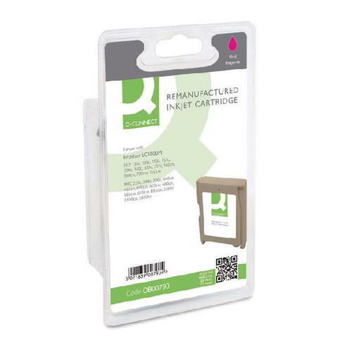 Q-Connect Remanufactured Magenta Inkjet Cartridge LC1000M