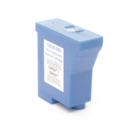 Q-Connect Pitney Bowes Remanufactured DM50/55/700/21 Franking Ink Blue K780003