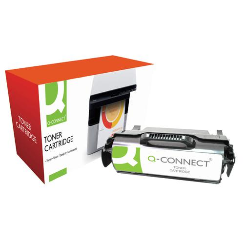 Q-Connect Lexmark Remanufactured Black Toner Cartridge T650A21E