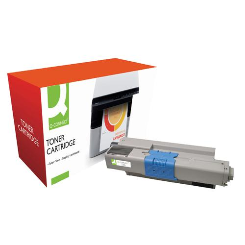 Q-Connect Compatible Solution Oki Black Toner Cartridge 44469803