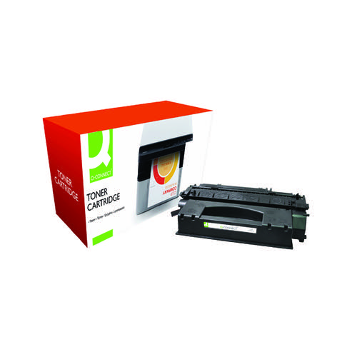 Q-Connect Compatible Solution HP 49X Black Toner Cartridge High Capacity Q5949X