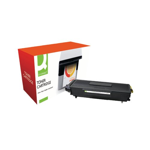 Q-Connect Compatible Solution Brother Black Toner Cartridge High Capacity TN3170