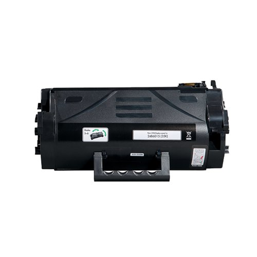 Q-Connect Lexmark 24B6015 Compatible Black Toner 24B6015-COMP