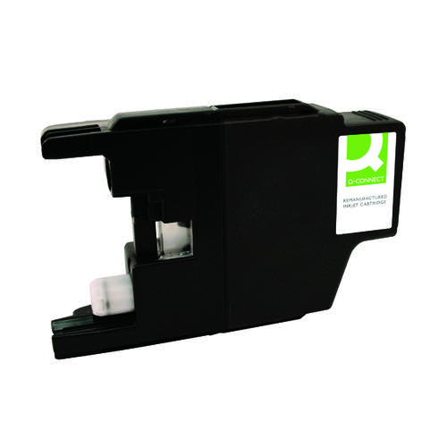 Q-Connect Epson 266 Inkjet Cartridge Black Globe T266140-COMP