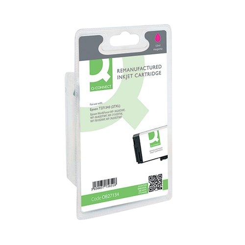 Q-Connect Epson 27XL Inkjet Magenta Cartridge C13T271340