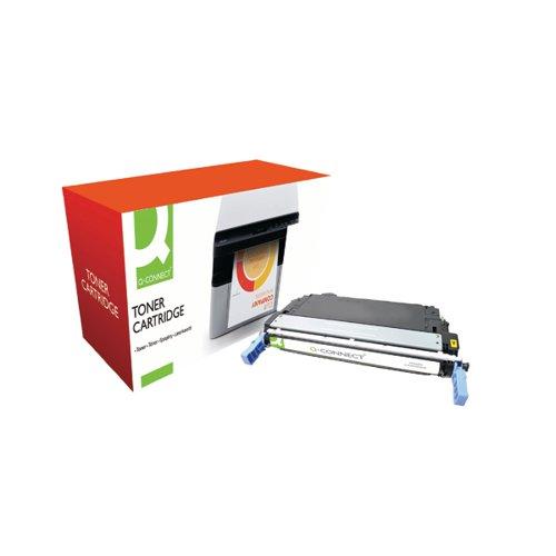 Q-Connect HP 643A Remanufactured Yellow Laserjet Toner Cartridge Q5952A