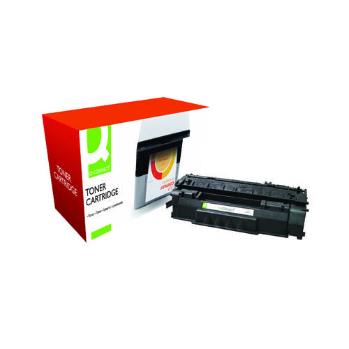 Q-Connect Compatible Solution HP 49A Black Laserjet Toner Cartridge Q5949A