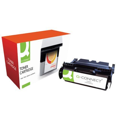 Q-Connect Lexmark Remanufactured Black Toner Cartridge 64016HE