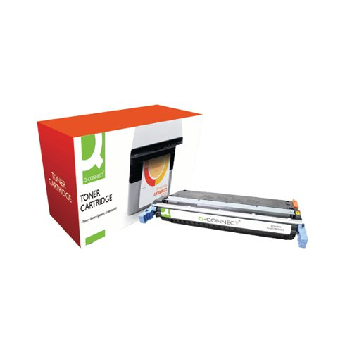 Q-Connect HP 645A Remanufactured Yellow Laserjet Toner Cartridge C9732A