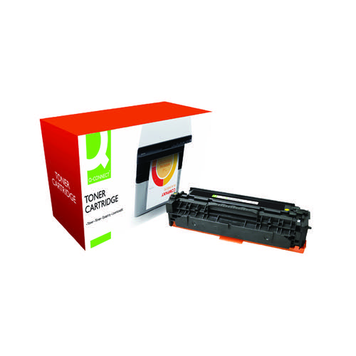 Q-Connect Compatible Solution Canon 718Y Yellow Toner Cartridge 2659B002
