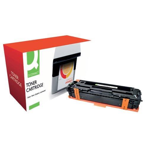 Q-Connect Compatible Solution HP 125A Black Laserjet Toner Cartridge CB540A