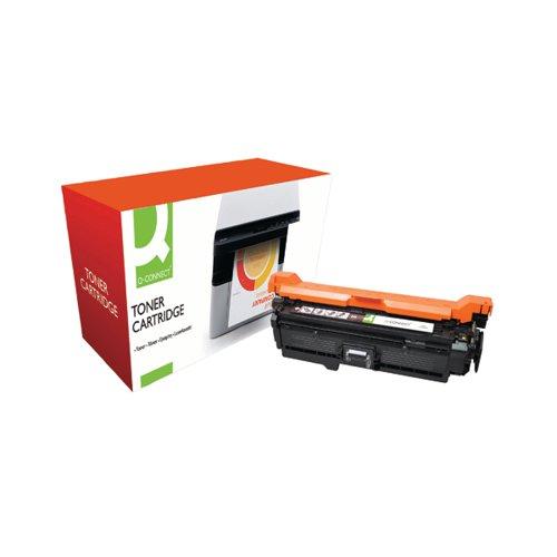 Q-Connect Compatible Solution HP 504A Black Laserjet Toner Cartridge CE250A